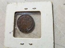 Civil War Token Cwt, Patriotic, 1863, Indian Head / Not One Cent #C297