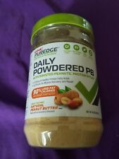 GNC Puredge Daily Powered PB NATURAL PEANUT BUTTER FLAVOR 6.9 OZ BN