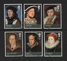 "FRANCOBOLLI GB 2009 ""Kings & Queens, House of Tudor 'sg2924-2929 - Fine USATO"