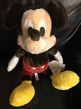 "NEW 25"" BIG Disney Japan Mickey Mouse Disney Store Plush Stuffed Doll SEGA"