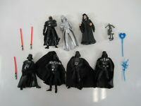 Star Wars Darth Vader Figures - Lot of 7 Loose