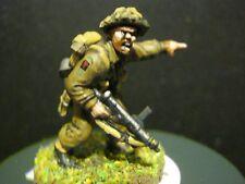 28 mm WW2 Bullone azione Fanteria Britannica dipinto su ordinazione