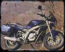 CAGIVA River 600 (2) A4 Metal Sign moto antigua añejada De