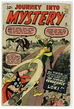 Journey Into Mystery 88 Marvel Comics 1963 LOKI THOR KIRBY Low Grade (j#1928)