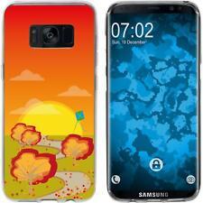Case für Samsung Galaxy S8 Plus Silikon-Hülle Herbst Drache/Kite M2 Cover