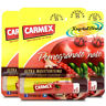 3x Carmex Pomegranate Click Stick Moisturising Dry & Chapped Lip Balm With SPF15