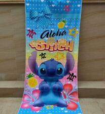 lilo&stitch standing bathing towel kids swimming towels unisex cartoon new