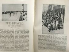 Michaux Cycle Club Cycling Women Old Antique Victorian Article 1895 Frank French