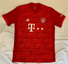 2019-20 Bayern Munich team signed soccer jersey Alphonso Davies +20 *PROOF