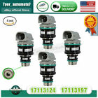 4 Pcs Fuel Injector 2.2L For Chevy GMC Cavalier Buick Pontica 17113124 17113197