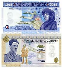 Uk Great Britain 2018 Unc Raf Commemorative Test Note Banknote - Version 2