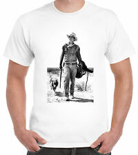Lone cowboy and his dog. Western T-Shirt