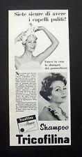 F503 - Advertising Pubblicità - 1953 - SHAMPOO , TRICOFILINA