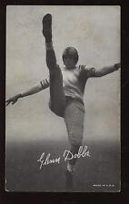 1948/1950 Exhibit Supply Football Card Glenn Dobbs SP