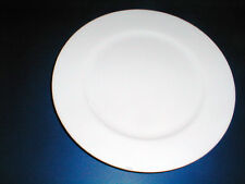 Delco Porcelain Vista Alegre Portugal All White Rimmed Dinner Plate/s (LOC-1E)
