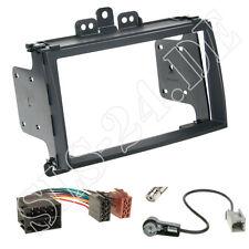 HYUNDAI i20 dal 03/2009 autoradio doppio DIN telaio di montaggio pannello radio Adattatore ISO