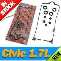 Civic 1.7L Valve Cover Gasket & Plug Seal Set 10 PC Kit