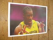 Yohan Blake LA BESTIA OLYMPIC Grande Poster # 2