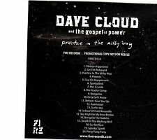 (EI228) Dave Cloud And The Gospel Of Power, Practice In The Milky Way - DJ CD