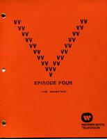 """V Visitor Script - Episode Four  [ 4 ] - """"The Deception"""", Final Draft"""