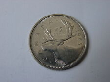 CANADA. 25 CENTS 1985.