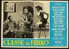 FOTOBUSTA 1, CLASSE DI FERRO, VASILE, MADELINE FISCHER, FAUSTO CIGLIANO, POSTER