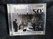 AROUND THE 50' / CHANSONS PASSION - cd - Elvis, Little Richard, Ray Charles