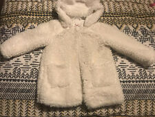 Girls Teddy Fleece Coat 2-3yrs