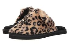 NEW KATE SPADE NEW YORK BELINDY CAT SLIPPERS LEOPARD PRINT SIZE 5 MSRP:$78.00