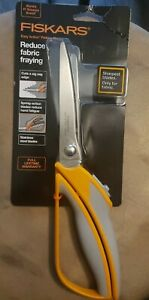 "Fiskars Easy Action Pinking Shears 10.5"" 19100 NEW with Tags"