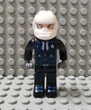 LEGO 4 Juniors Jack Stone Police Minifigure with White Helmet
