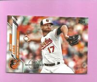 2020 Topps 582 Montgomery Club Foil Stamp #656 Alex Cobb Baltimore Orioles