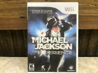 Michael Jackson: The Experience (Nintendo Wii, 2010) **DISC ONLY READ** TESTED#2