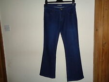 LADIES SOUTH BLUE BOOTLEG JEANS SIZE 10R