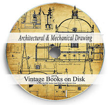 Architectural Mechanical Drawing Rare Books on DVD Design Engineering Home 273