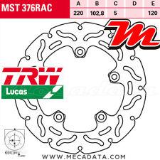 Disque de frein Arrière TRW Lucas MST 376 RAC Aprilia RSV 1000 Touno R (RP) 2002