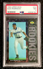 1994 Upper Deck Alex Rodriguez Rookie #24 Baseball Seattle Mariners PSA 7 NM