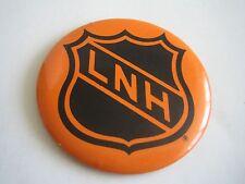 VINTAGE NATIONAL HOCKEY LOGO LNH BUTTON/PINBACK