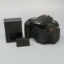 Canon EOS Rebel T6s 24.2MP Digital SLR Camera - Black (Body Only)