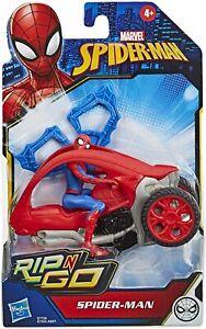 Marvel Spider-Man - Spider-Man Rip 'n' Go Stunt Vehicle *BRAND NEW*