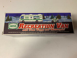 HESS 1998 Recreation Van with Dune Buggy and Motorcycle! New In Box