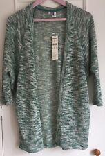 Ladies O'Neill Granite Green Knitted Kimono  - Size M/L BNWT