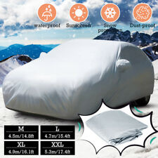 Universal Car Cover Waterproof Snow UV Rain Dust Resistant 5.3x2.0x1.5m Size XXL