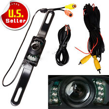 CMOS Car Rear View Reverse Backup Camera Parking Night Vision Waterproof 7 LED Y