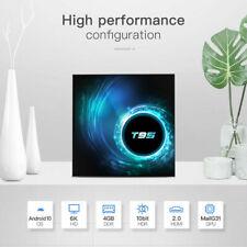 T95 Android 10.0 TV BOX 4+32G QUAD CORE WIFI HDMI H.265 3D lettore multimediale Streamer