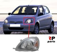 FOR TOYOTA YARIS 1999 - 2003 NEW FRONT HEADLIGHT LAMP H4 LEFT N/S LHD