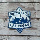 DUTCH BROS Coffee Sticker Regional Las Vegas Sticker Rare Skyline HTF