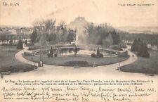 """LE PUY - le jardin public, """"le Fer à Cheval"""" copie du tombeau de la Moricière"""