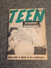 1960 TEEN What Does It Mean To Be A Christian? Christian Booklet