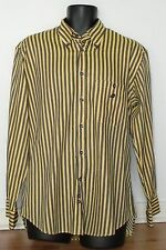 VINTAGE GREEN COAST YACHTING OUTFITS DESIGNER SHIRT MADE IN ITALY MENS LARGE